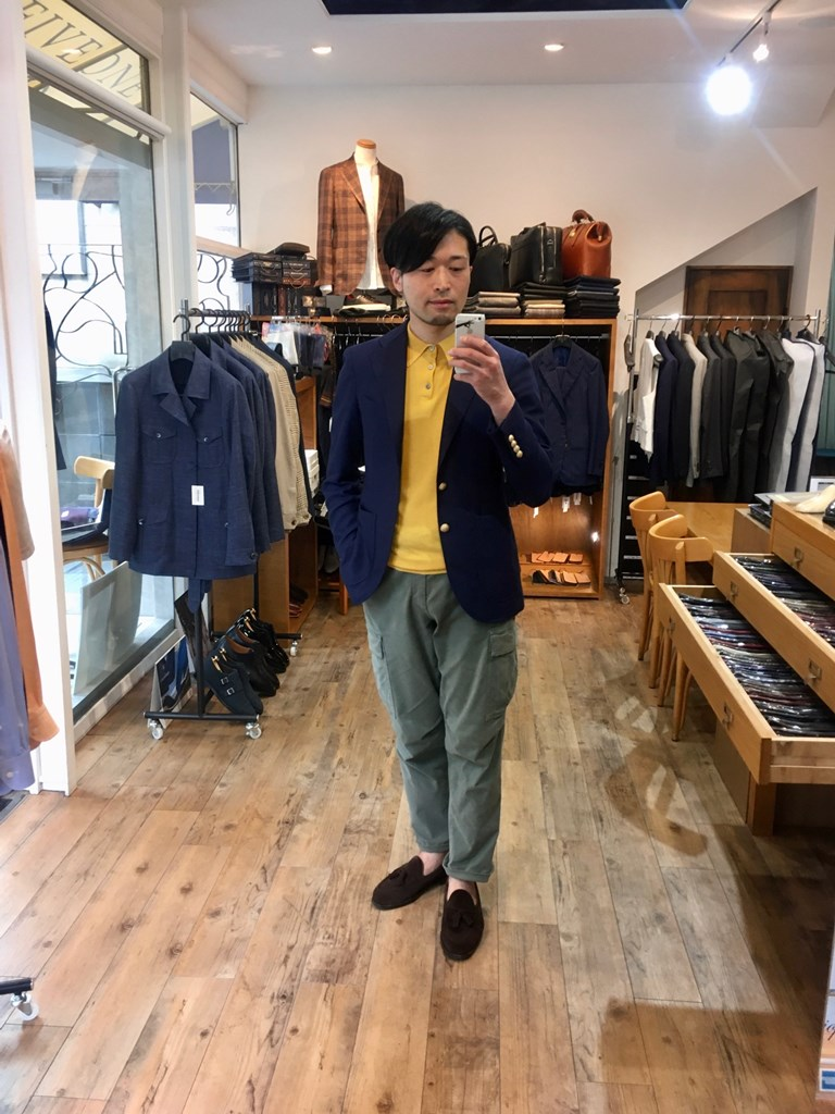 fiveone福岡店のオーダージャケット