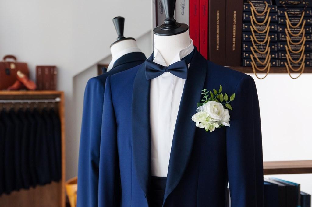 秋の結婚式に向けてオーダータキシードの紹介